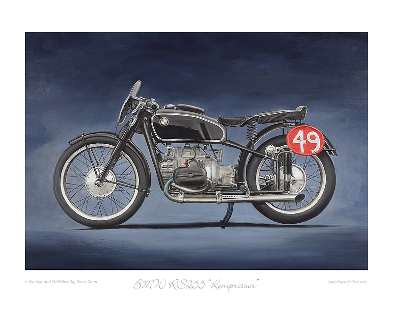 BMW RS255 Kompressor print